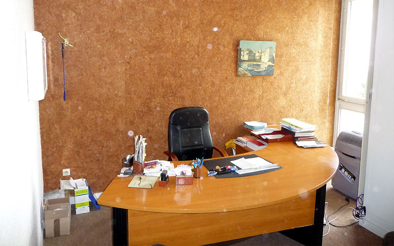 Peindre son cabinet for Quelle couleur pour un bureau professionnel